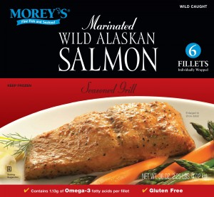 """Cook It Frozen"""" Seared Alaskan Salmon Recipes — Dishmaps"""