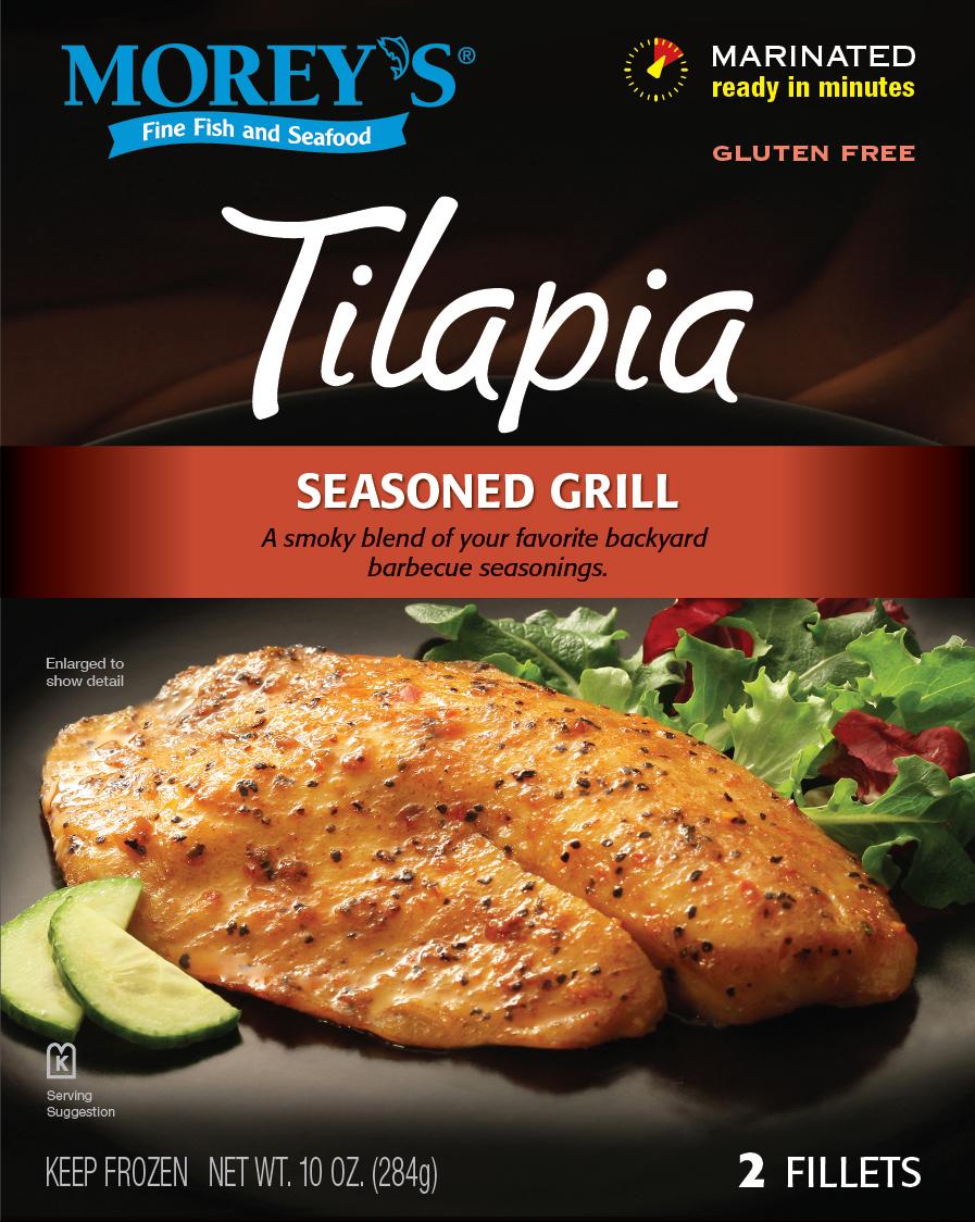 Seasoned grill tilapia morey 39 s for Morey s fish