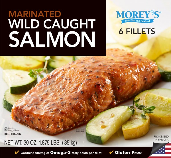 Wild caught seasoned grill salmon morey 39 s for Morey s fish