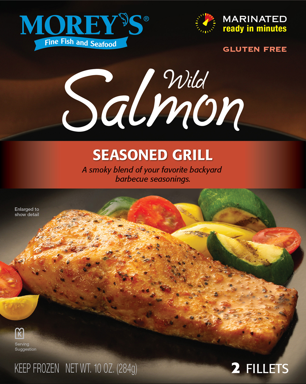 seasoned grill wild salmon morey 39 s
