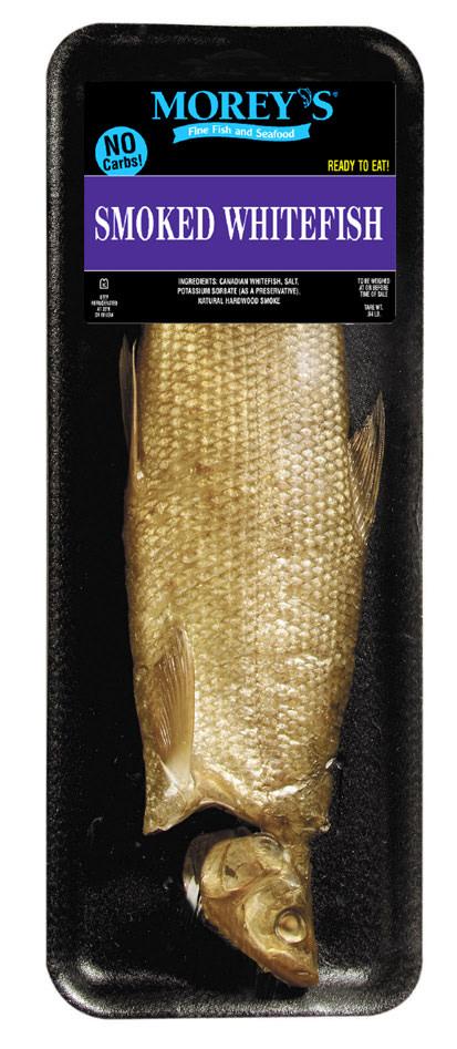 Smoked whitefish morey 39 s for Morey s fish
