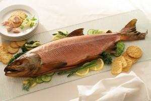 Whole Smoked Wild Keta Salmon
