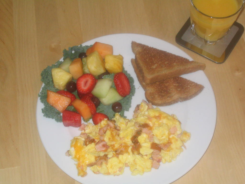 Scrambled eggs with smoked salmon morey 39 s for Morey s fish