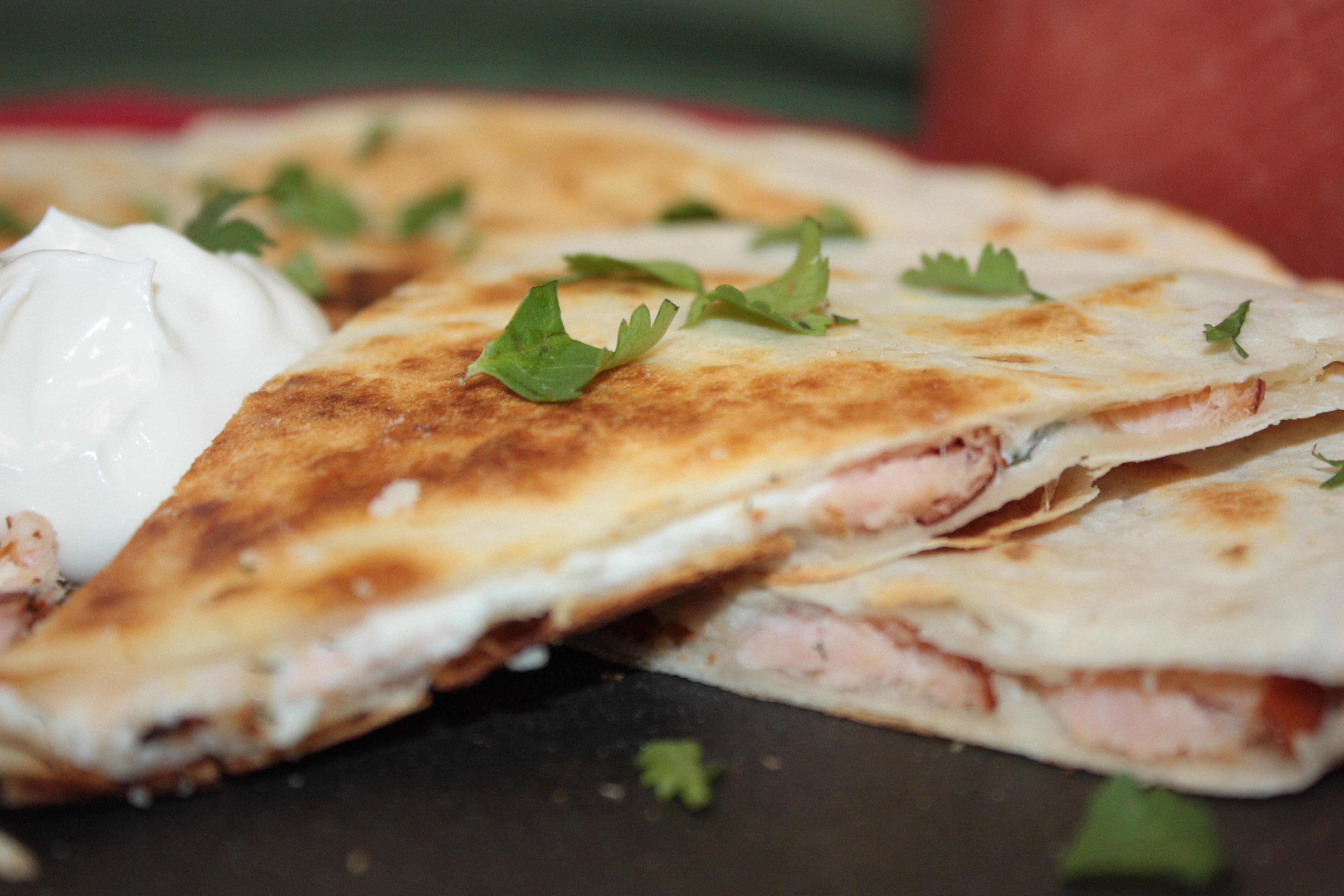 Smoked salmon quesadillas morey 39 s for Morey s fish