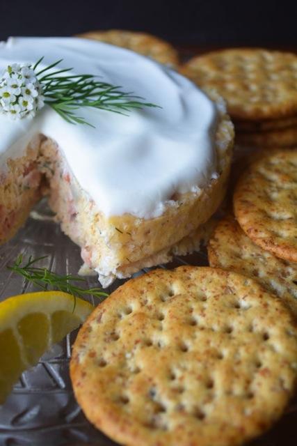 Savory smoked salmon cheesecake morey 39 s for Morey s fish