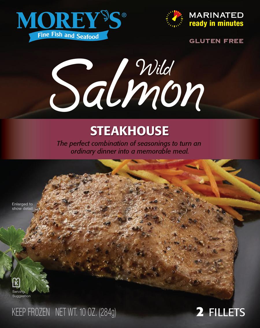 Steakhouse wild salmon morey 39 s for Morey s fish