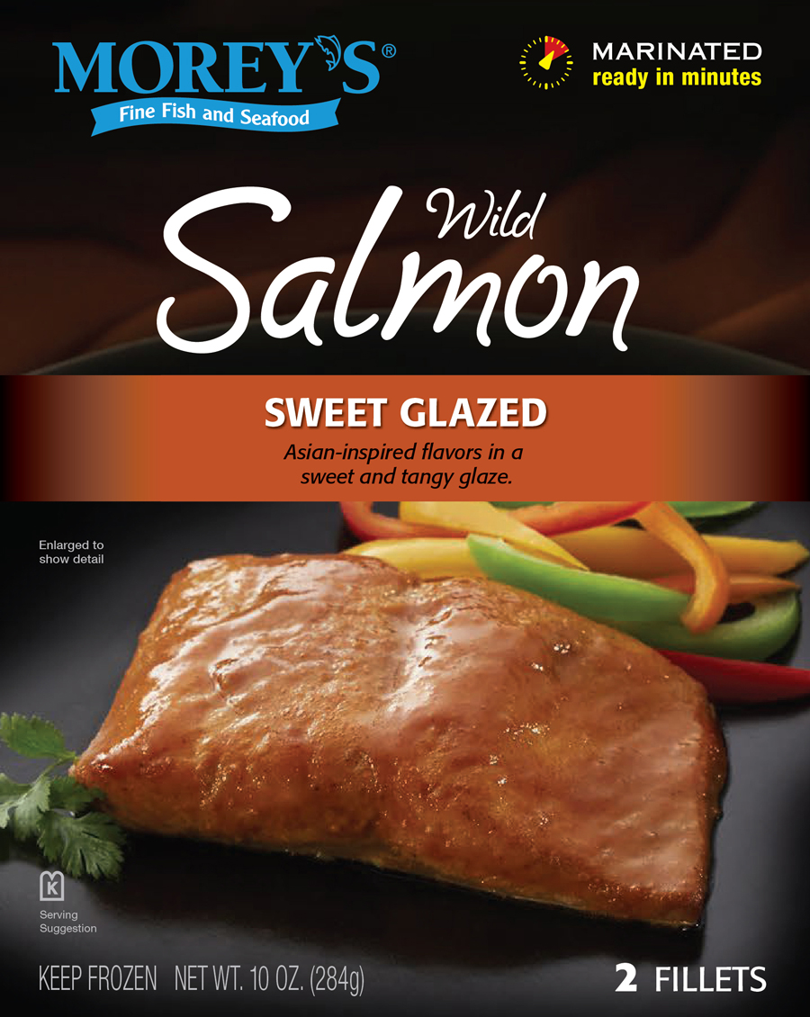 Sweet glazed wild salmon morey 39 s for Morey s fish