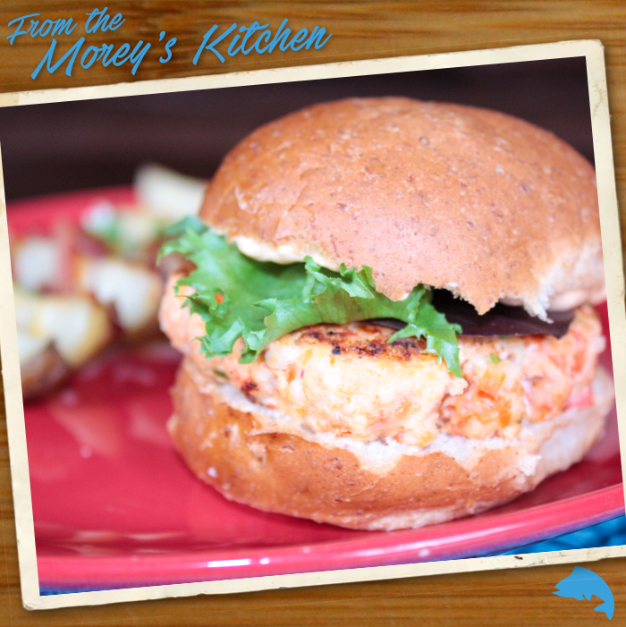 Salmon sliders with chipotle mayonnaise morey 39 s for Morey s fish
