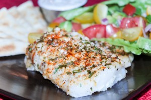 Baked Haddock with cucumber Raita (2 of 2)