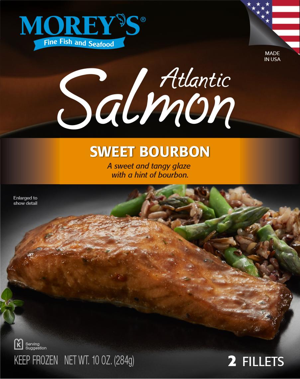 Sweet bourbon atlantic salmon morey 39 s for Morey s fish
