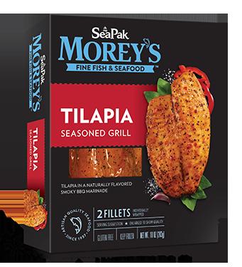 Tilapia Seasoned Grill