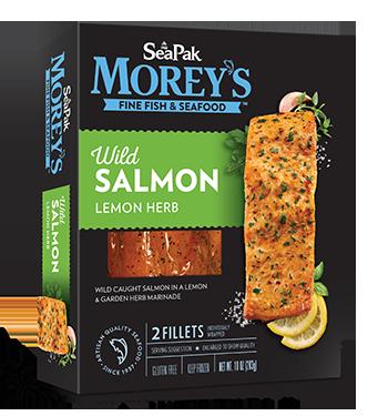 Wild Salmon Lemon Herb