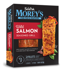 Wild Salmon Seasoned Grill