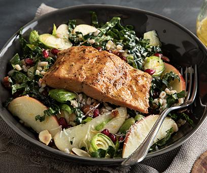 Salmon Harvest Salad