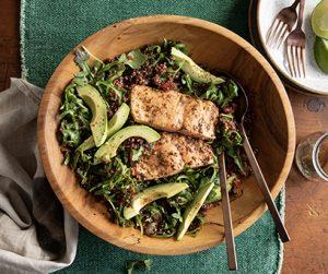 Steakhouse Salmon Quinoa Bowl
